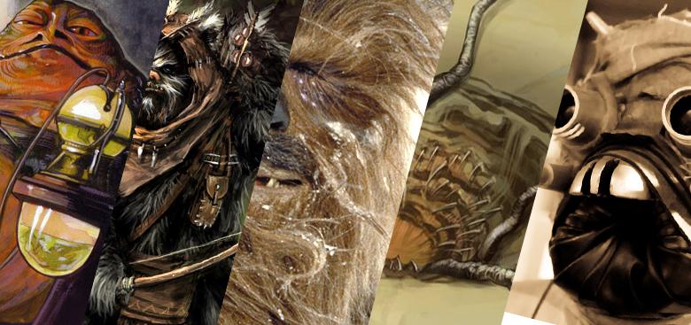 Top Star Wars Creatures | Techie Doodlers