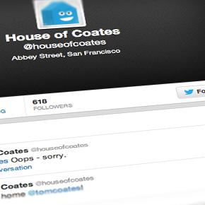 The House of Coates Tweet