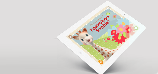 App Review: Teaching Colours with Sophie La Giraffe and Friends